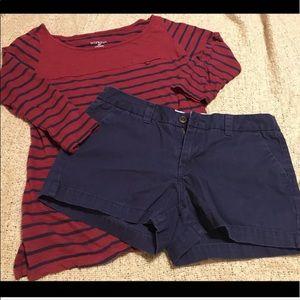 Merona Shorts and Merona Shirt